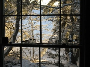 winter preparation includes sealing windows