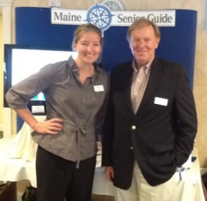 senior health fairs in Maine include exhibitors like Maine Senior Guide