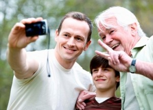 filial responsibility connects grandfather, son and grandson