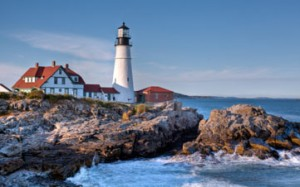 Portland Head Light shines on Portland, Maine, best place to live for empty nesters, according to Kiplingers
