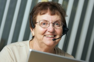 senior volunteer services include staffing phone hotlines