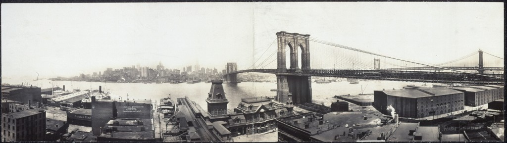 Who built the Brooklyn Bridge?