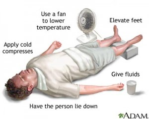 heat stroke is a serious heat emergency